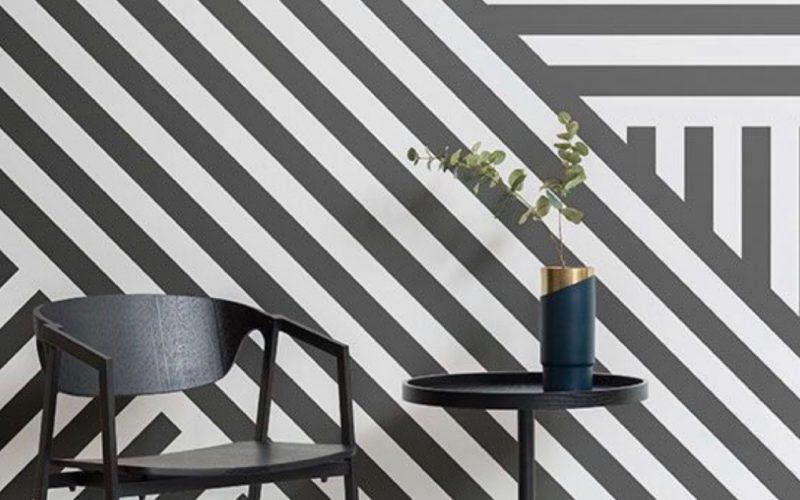 Tapety sú späť: Oblečte steny do netradičných farieb a vzorov