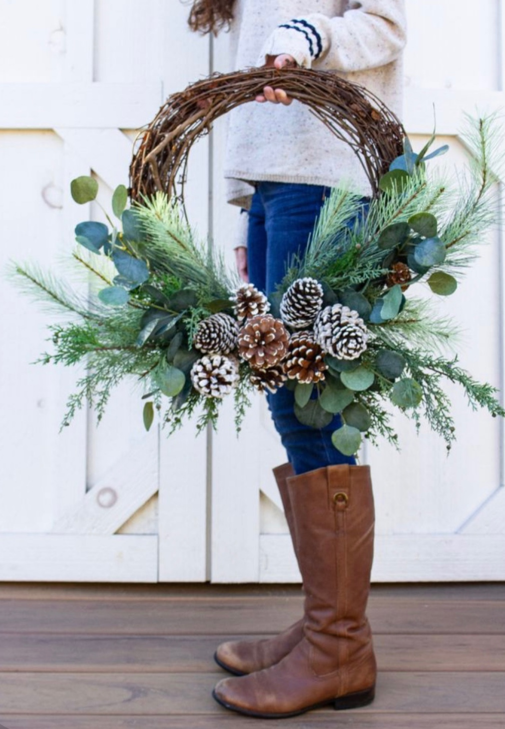 Zdobí vaše dvere? 15x inšpirácia na nápaditý vianočný veniec