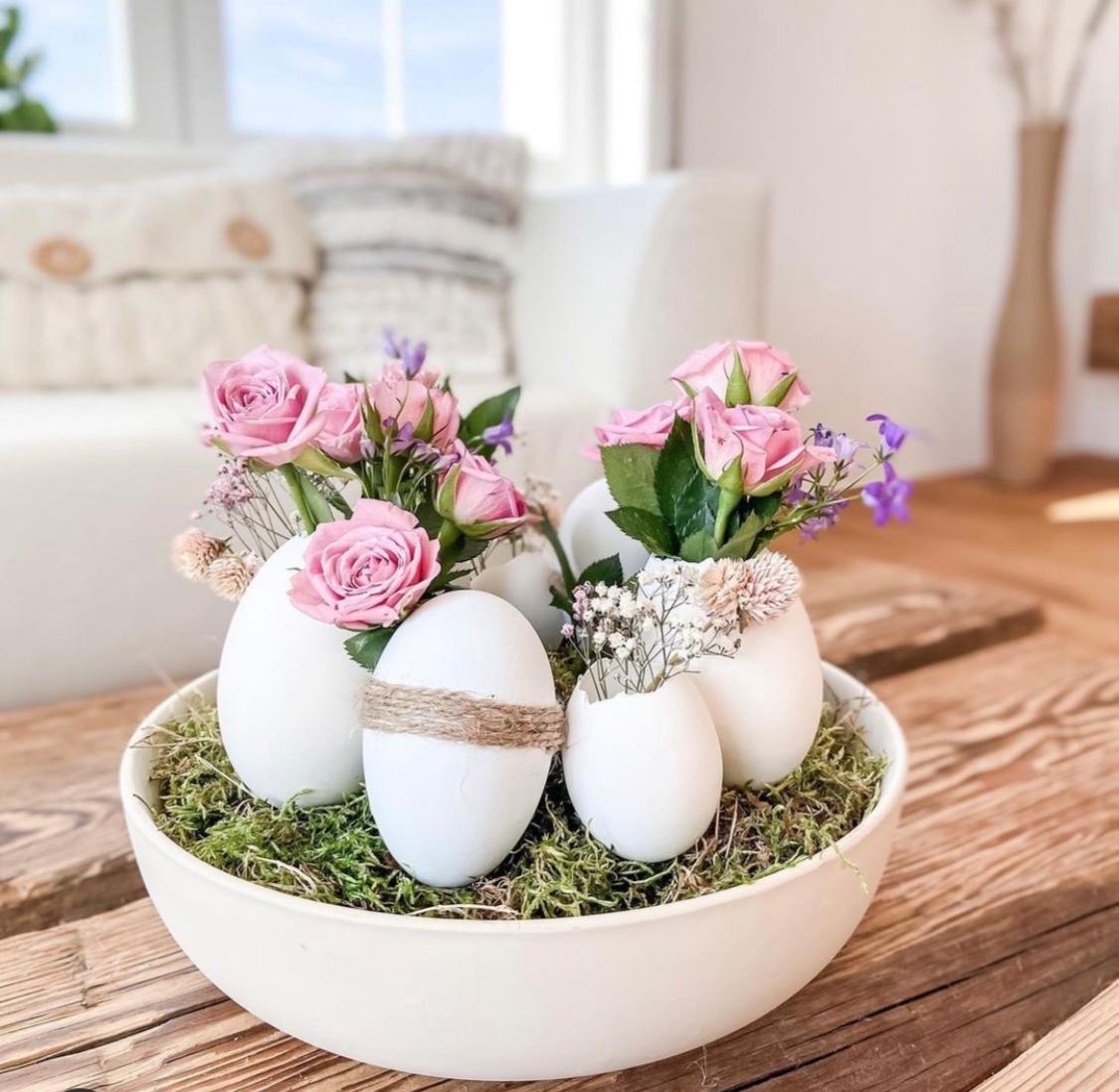 Sviatky jari klopú na dvere: Urobte si veľkonočnú výzdobu trochu inak!